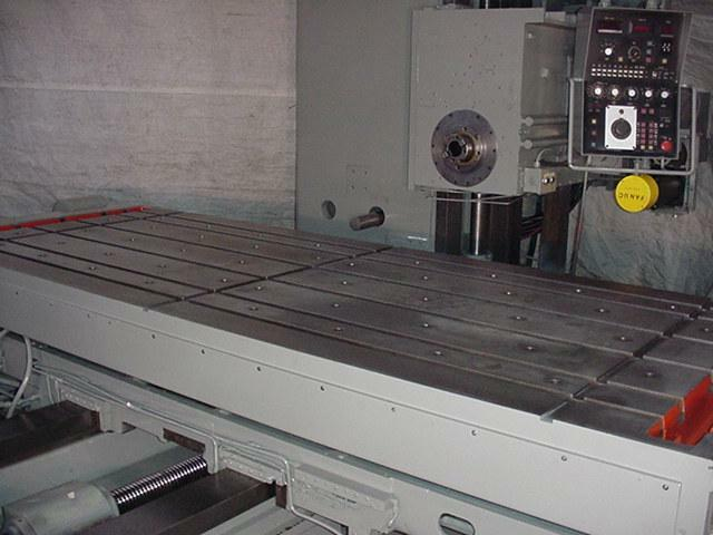 5 G&L PMC 50, 40 HP, 4 Axis Fanuc 6 CNC Control, 48 x122 table, 72 vert, #50