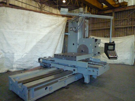 4.3 Union, 80 X, 50 Y, 49 x55 Rotary Table,#50, New Heidenhain TNC 360 in 2000