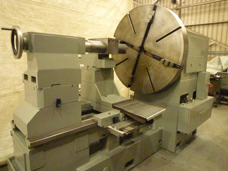 66 /77 x 44 GURUTZPE, 55 4 jaw Chuck, 56 swing over cross, inch/mm, 1977