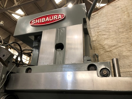 49 SHIBAURA TX-13, 30 HP, 63 swing, 41 UR, 4 Jaw Chuck, Turret Head, DRO,1978