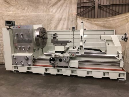 44 /61 x84 Ganesh, 30 HP, 9 Hole, Inch/Metric, Taper, DRO, Chuck, Steady, 2011