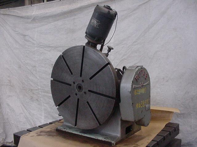 24 , ROTAB, Precision, Manual Tilt, Power Rotate, 1966, Excellent