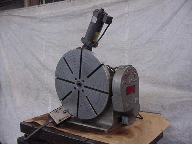 24 , ROTAB, Precision, Manual Tilt, Power Rotate, 1965, Excellent